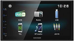 Kenwood DMX125 / DMX125BT / DMX125BT 6.8 Digital Multimedia Receiver with Bluetooth