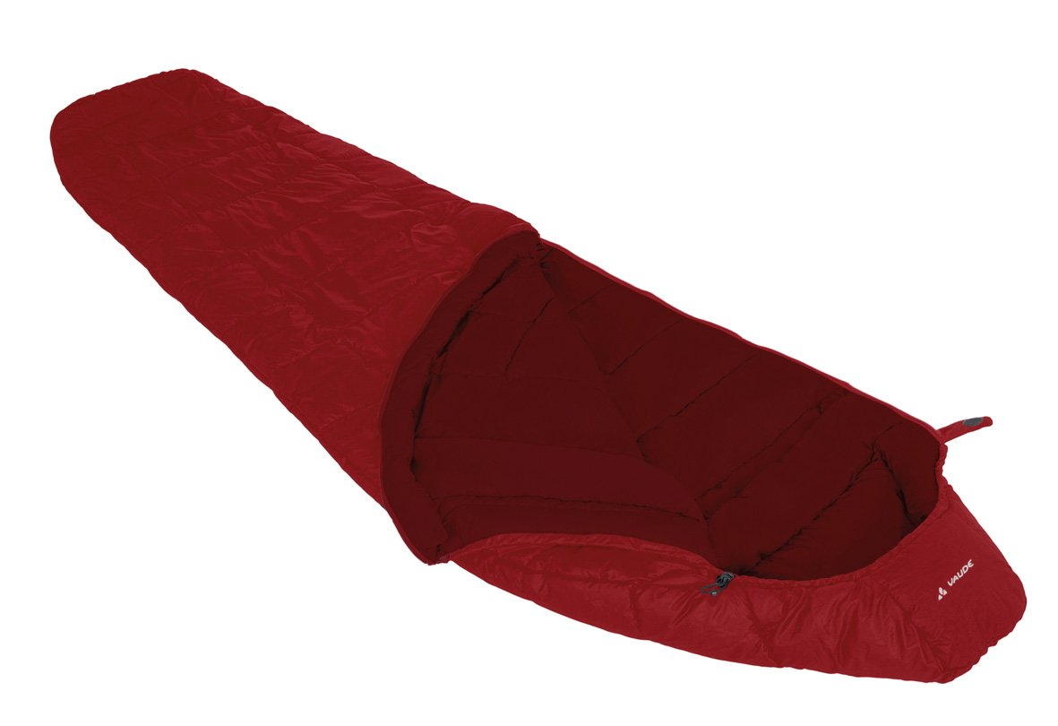 Vaude Women's Sioux 800Syn Sleeping Bag, Dark Indian Red, Right