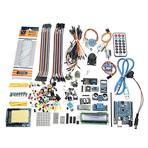 UNO R3 Starter Kits 1602 LCD MPU6050 Relay Module HC-05 Bluetooth Board for Arduino