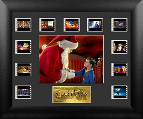 Film Cell Genuine Framed & Matted Polar Express S1 Mini Montage USFC6284