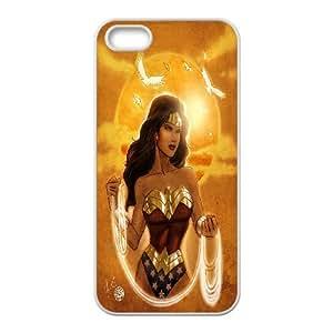 High Quality (SteveBrady Phone Case) SuperHero Wonder Woman For Apple Iphone 5 5S PATTERN-20