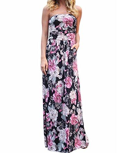 flower bandeau dress - 1