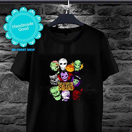Halloween Squad Pumpkin Dracula Frankenstein Suicide Squad Movie Parody Halloween 2019 T -shirt for men and women]()