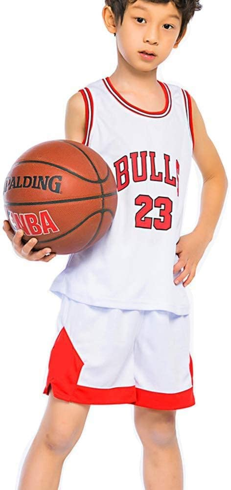 LIMQ Kid Boy NBA Michael Jordan # 23 Chicago Bulls Pantalones ...