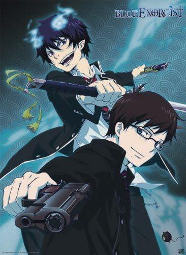 Blue Exorcist cartel Rin y Yukio (52x38): Amazon.es: Hogar