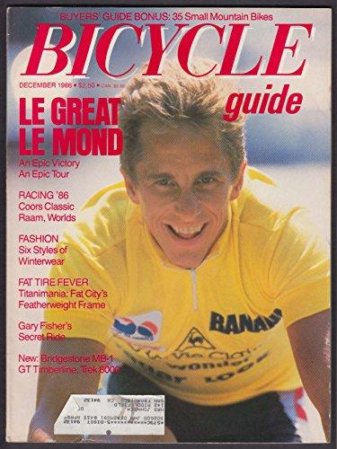 BICYCLE GUIDE Greg Le Mond Gary Fisher Bridgestone MB-1 GT Timberline 12 1986