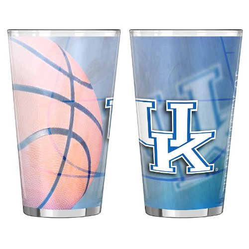 Boelter Brands NCAA Kentucky Wildcats Shadow Sublimated Pint, 16-Ounce, 2-Pack