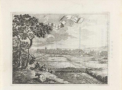 """Ageless Art Poster - View Elsen, John Aries, 1672 16"""" x 20"""""""