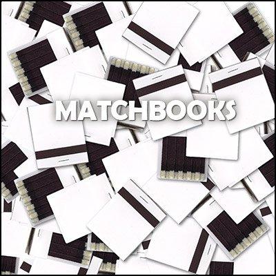 (White matchbooks (Box of 50))