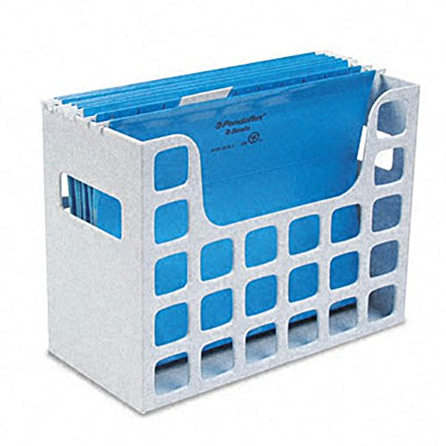 MattsGlobal 6-inch Capacity Hanging Folder File Storage Plastic Container (Decoflex Hanging)