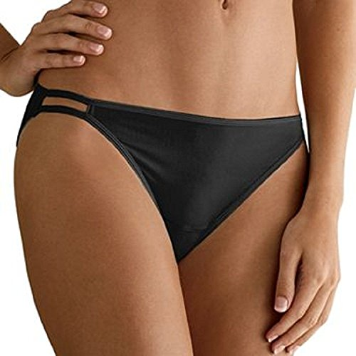Hanes Women's 6 Pack Smooth & Invisible Bikini,size 5 (Hanes Invisible Panties)