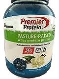 Premier Protein Pasture-Raised Whey Protein Powder, Vanilla Milkshake, 3.57 LBS