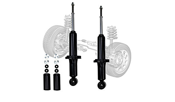 2 Left+Right Rear Shocks Absorbers Strut Dampers Set for Toyota 4WD Tundra 00-06