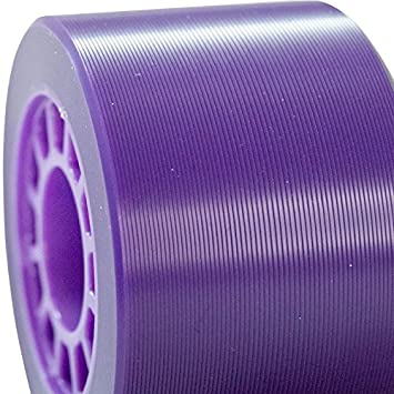 93A Hardness Great for Indoor surfaces Available in 5 Two Sizes 62x41mm /& 59x38mm MOTA Roll Toxic Hybrid Roller Derby Skate Wheels