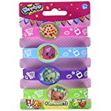 Shopkins Rubber Bracelet Party Favors, 4ct