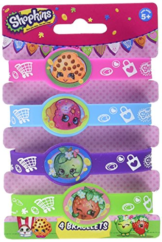 Shopkins Silicone Wristband Party Favors