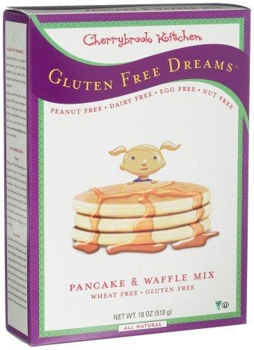Cherrybrook Kitchen Gluten Free Dreams, Pancake & Waffle Mix, 18-Ounce Boxes (Pack of 6) by Cherrybrook Kitchen ()