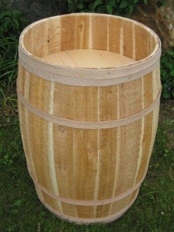 (All Maine Bucket BD201 18 x 30 Inch False Bottom Display Barrel)