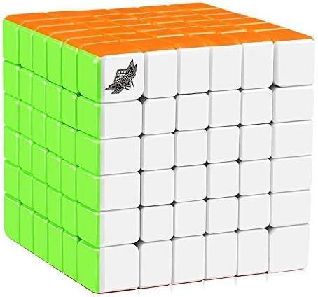 Cubelelo Cyclone G6 6x6 Stickerless Rubik Speed Cube