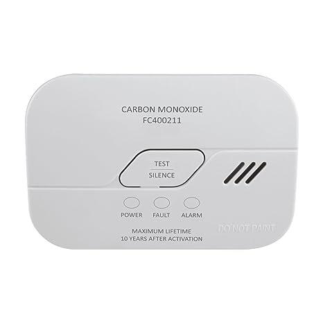 ELRO FC400211 Detectores de monóxido de Carbono, Blanco