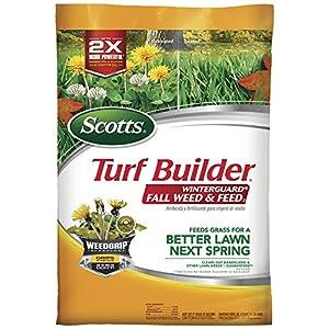 Scotts Turf Builder WinterGuard Fall Weed & Feed 3