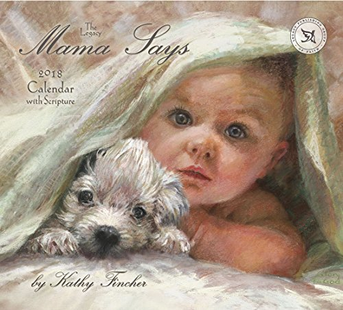 2018 12-Month Wall Calendar with Scripture, Mama Says