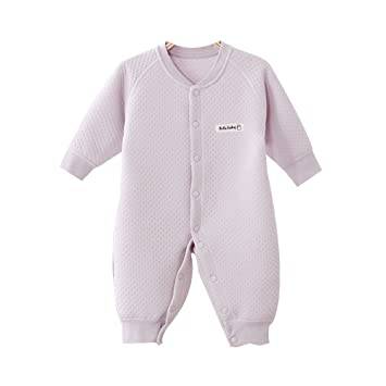 e9ad80bb21a5 Amazon.com  EsTong Newborn Infant Baby Boy Girl Cotton Pajamas Long ...