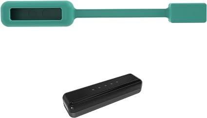 Bracelet de Remplacement Clip Magnétique Silicone pour Fitbit Flex 2 Noir