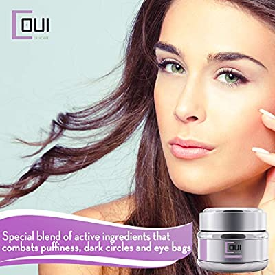 COUI Under Eye Cream Anti Aging – For Eye Bags, Dark Circles and Puffiness 3.2oz