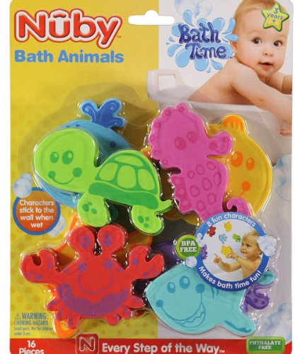 Nuby-Bath-Animals