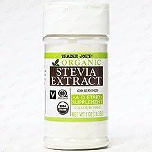 Trader Joe's ORGANIC Stevia Extract CALORIE FREE 1 OZ 630 Servings
