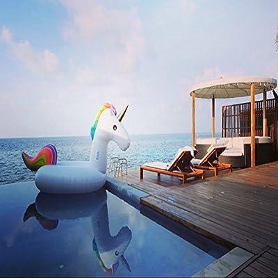 Unicornio enormes, juguetes de flotador, natación, piscina Float ...