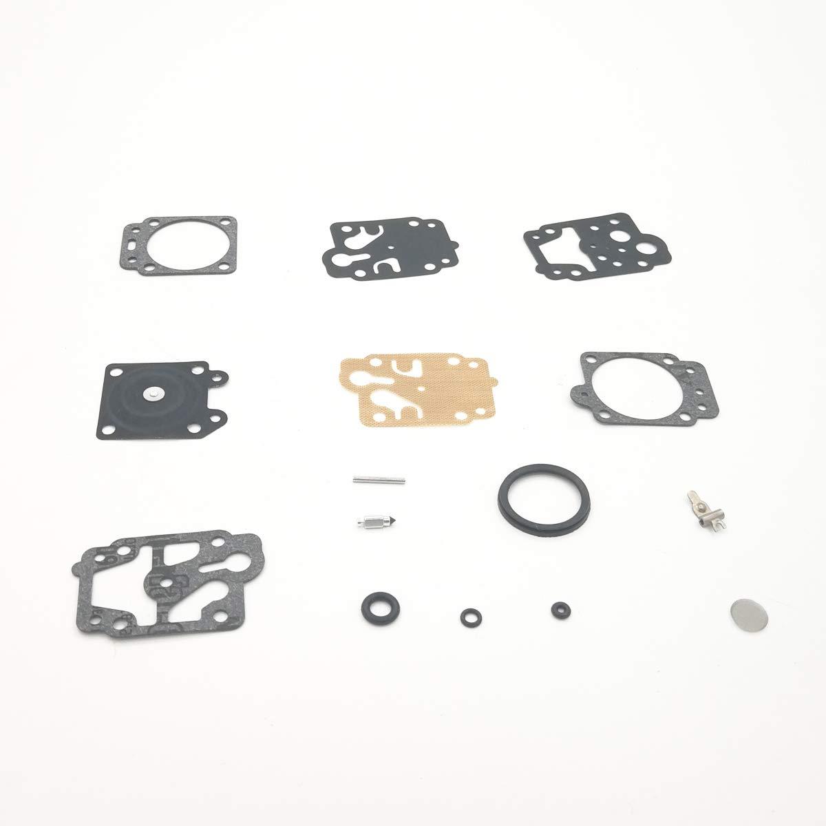 Cancanle carburatore con Guarnizione accensione con Tubi Carburante Kit Fits Honda GX25/GX35/GX 25/35/HHT35/HHT35S FG110/Trimmer Tosaerba Motore