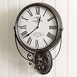 CTW Home Collection Kensington Station Wall Clock
