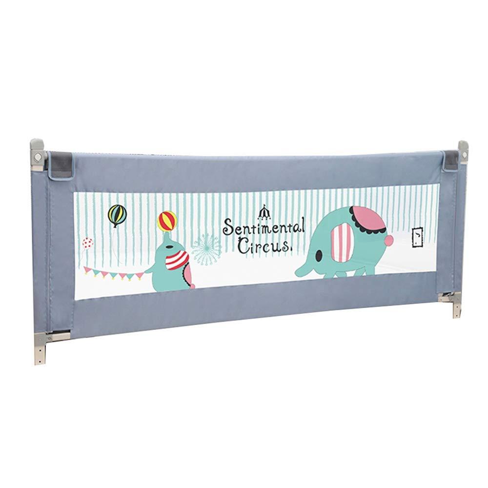 NAN liang 子供用ベッドレール - ポータブルフォールディングフェンスセーフティフェンス子供に適し、7段階(150 x 92 cm)で調節可能 (色 : 180cm)  180cm B07K8NJ8GJ