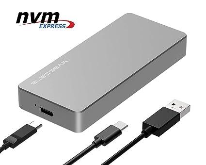 8a31da5b215 NVMe PCIe M.2 SSD to USB 3.1 Type C Gen2 Enclosure - ElecGear 10Gbps  External Aluminum ...