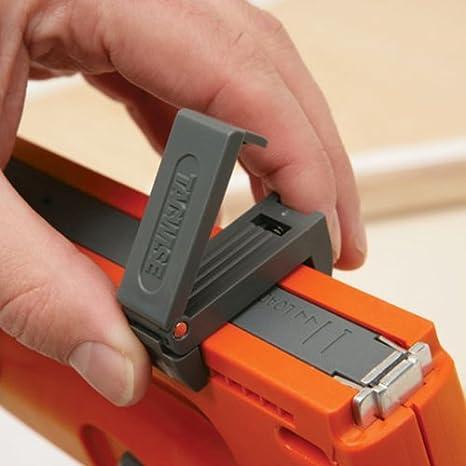 6//14mm y clavos 180 Grapadora // clavadora manual ligera para grapas de 53 150mm Tacwise Z3-53L
