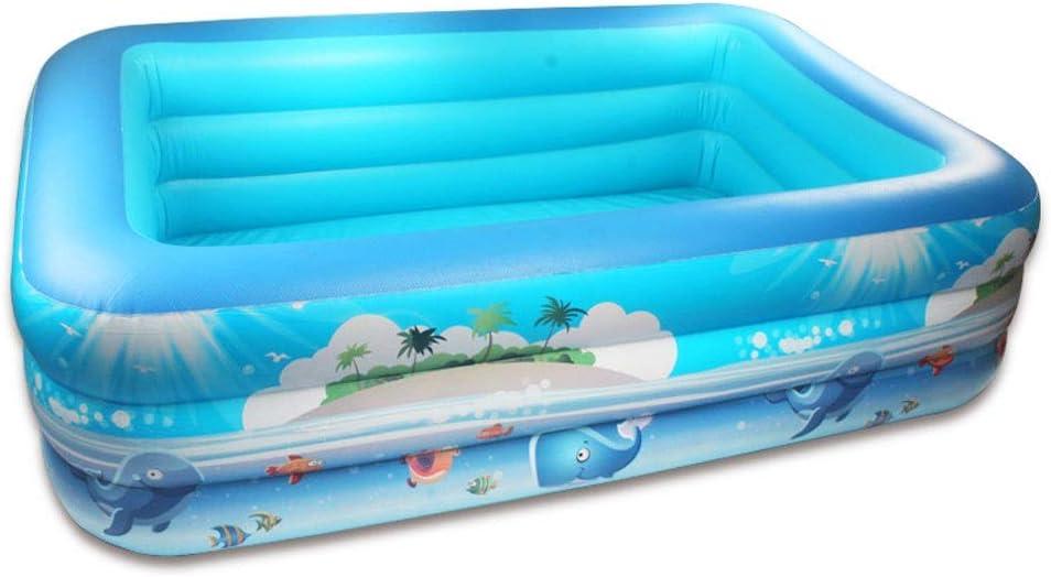 Arena piscina hinchable – Piscina hinchable gruesa, familia respetuosa con el medio ambiente, niños adultos, bañera de mamá, variedad de tamaños para elegir bebés, familia, piscina para jardín y: Amazon.es: Jardín