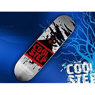 Skate Board/ professionnel aux quatre roues adulte skate/Érable canadien froid pressé double rocker