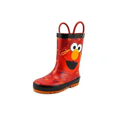 1e4a09191 Sesame Street Boys  Elmo Rain Boot 501-K