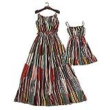 Travel Mother Daughter Dress Set Summer Beach/Daily Dress Set