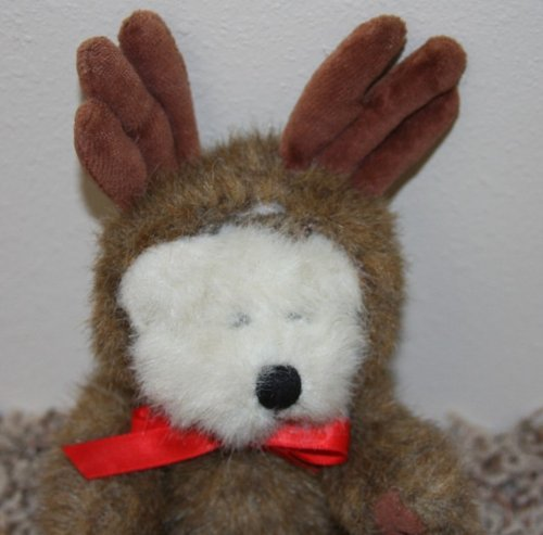Retired Boyds Bears 8 Inch Poseable Plush Boyd's Bear Ansel Reindeer Doll