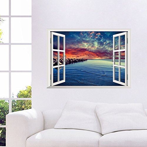orderin-christmas-gift-new-creative-wall-decal-3d-false-window-fire-cloud-beach-room-background-remo