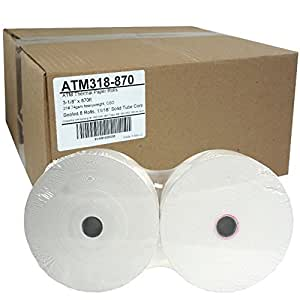 Amazon Com Atm Paper 3 1 8 X 870ft 74g Sealed 8 Rolls