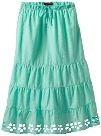 My Michelle Big Girls' Maxi Skirt, Green, Small