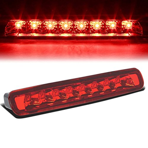 Ford Mustang 5th Gen Pony Shelby High Mount LED 3rd Brake Light (Red (Mustang 3rd Brake Light)