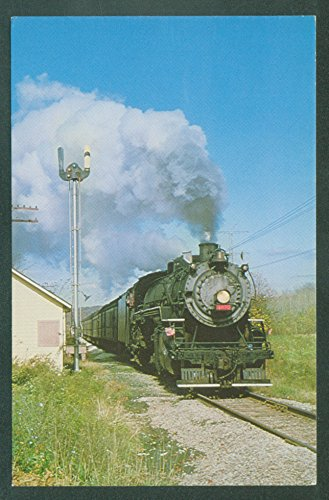 (Cuyahoga Valley Line Ex Grand Trunk Western Locomotive Railroad Train Postcard)