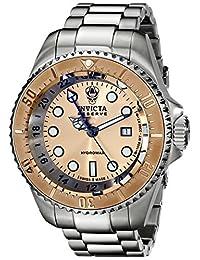 Invicta Men's 16965 Reserve Analog Display Swiss Quartz Silver Watch