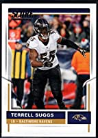 2017 Score #114 Terrell Suggs Baltimore Ravens Football Card