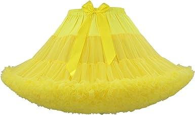 Falda Tutu Mujer Faldas de Tul Cortas Falda Tul Disfraz Fiesta ...